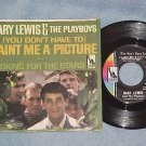 NM/VG++ 45 w/PS--GARY LEWIS/PLAYBOYS-PAINT ME A PICTURE