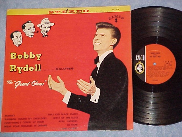 BOBBY RYDELL SALUTES THE GREAT ONES--Stereo NM/VG+ LP