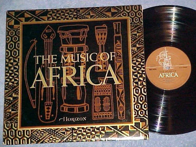 THE MUSIC OF AFRICA--NM/VG++ 1971 LP--Horizon RDC-4393