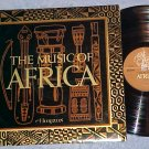 THE MUSIC OF AFRICA--NM/VG++ 1971 LP--Horizon RDC-4393