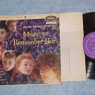 """JACKIE GLEASON-MUSIC TO REMEMBER HER-Part 1-10"""" 1955 LP"""