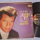 BOBBY VEE SINGS YOUR FAVORITES(DEVIL OR ANGEL-Stereo LP