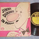 "JIMMY DURANTE IN PERSON--10"" VG 1951 LP--MGM E-542"