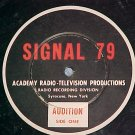 "SIGNAL 79-Academy Productions-10""LP~No Jkt-MYSTERY ITEM"