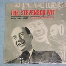 ADLAI STEVENSON--THE STEVENSON WIT--Mint Sealed 1965 LP