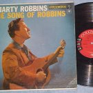 MARTY ROBBINS-THE SONG OF ROBBINS-VG/VG+ 1957 LP--6-eye