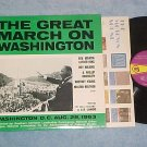 MARTIN LUTHER KING-GREAT MARCH ON WASHINGTON-NM 1968 LP
