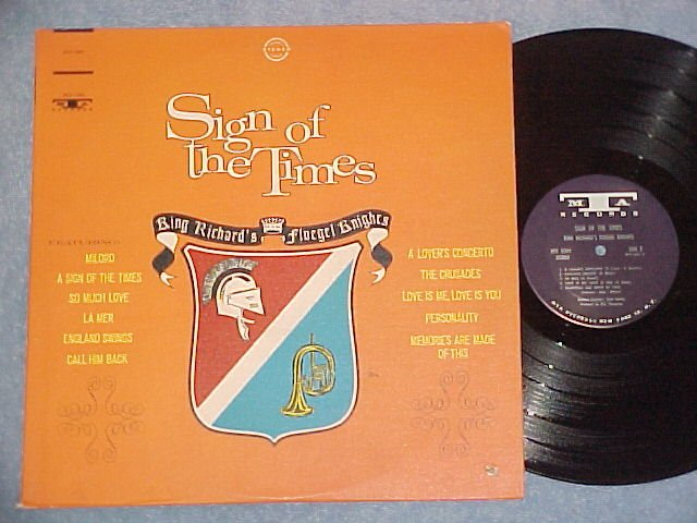 KING RICHARD'S FLUEGEL KNIGHTS-SIGN OF THE TIMES-'66 LP