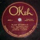 78-PATRICK GAFFNY/BERT FLYNN-Violin Solos-Okeh 4840-VG+