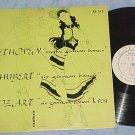 BEETHOVEN, MOZART, SCHUBERT--1952 LP--Esoteric ES-512
