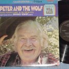 Will Geer narrating PETER AND THE WOLF--Quadraphonic LP