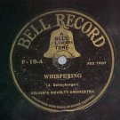 78--(BEN) SELVIN'S NOVELTY ORCHESTRA--Bell Record P-19