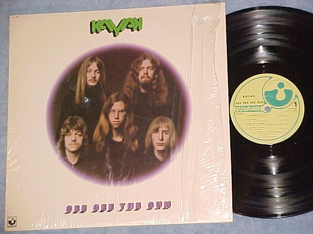 KAYAK--SEE SEE THE SUN--NM in shrink 1973 LP on Harvest
