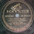 78--THE FOUR CLEFS/THE CATS AND THE FIDDLE--RCA 20-2072