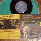 LLP(EP)w/PS--MAN OR ASTRO-MAN?--DELUXE MEN IN SPACE--NM