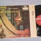 Paris Cons Orch--SCHEHERAZADE--London ffrr Blue Back LP