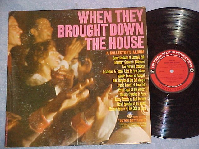 WHEN THEY BROUGHT THE HOUSE DOWN--LP--Dutch Boy Paints