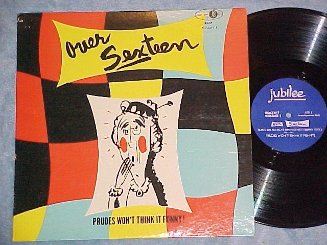 OVER SEXTEEN--Vol 1--NM/VG++ c. 1957 LP--Kermit Schafer