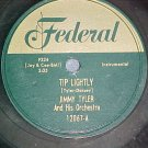 78-JIMMY TYLER---TIP LIGHTLY--1952--Federal 12067--VG+