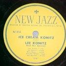 78-LEE KONITZ--ICE CREAM KONITZ-1950--New Jazz 834--VG+