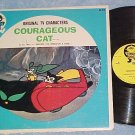 COURAGEOUS CAT--VG+/VG c.1960 TV Sdk LP--Simon Says lbl
