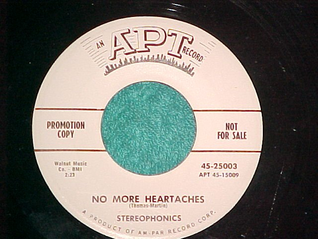 45-STEREOPHONICS--NO MORE HEARTACHES--Apt--WL Promo--NM