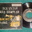EP w/PS--RCA VICTOR JAZZ SAMPLER-FROM HOT TO COOL--1954