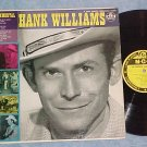 THE IMMORTAL HANK WILLIAMS-VG+ 1958 LP-MGM Yellow label