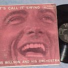 LOUIS BELLSON-LET'S CALL IT SWING--VG 1958 Verve MGV LP