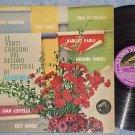 LE 20 CANZONI DEL X FESTIVAL DI SANREMO--1960 Italy LP
