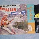 REX ALLEN--16 GOLDEN HITS--VG+/NM in shrink 1961 LP