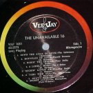 UNAVAILABLE 16 HITS OF YESTERYEAR-NM Vee Jay LP ~No Jkt
