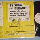 """JIMMIE (JIMMY) DURANTE TV SHOW-Rare 10"""" 1955 LP--Royale"""