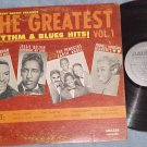 GREATEST RHYTHM AND BLUES HITS-Vol 1-1962 Amazon lbl LP