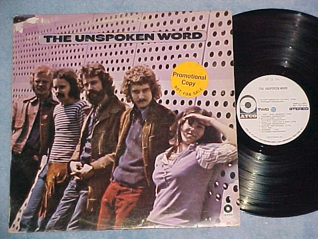 THE UNSPOKEN WORD-s/t 1970 LP--Atco SD-33-335--WL Promo