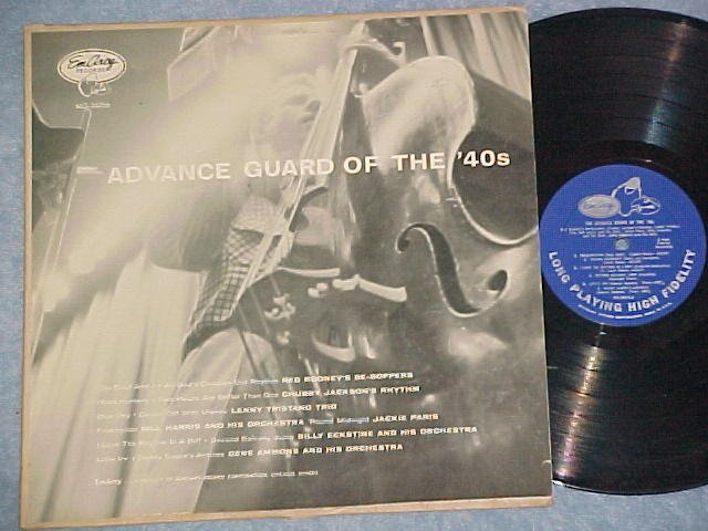ADVANCE GUARD OF THE 40s-1955 Cpltn LP-EmArcy Blue Back