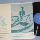 THE YOUNG MAN FROM BOSTON-John F Kennedy TV Sdk LP-1965