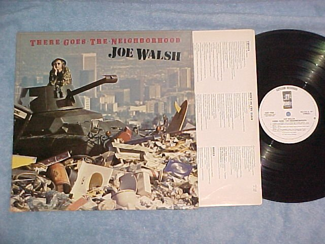 JOE WALSH--THERE GOES THE NEIGHBORHOOD--NM WL Promo LP