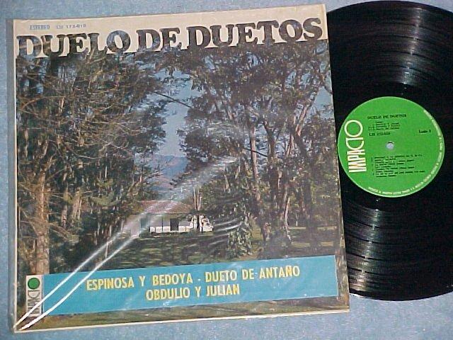 Stereo Colombia LP on Impacto/Sonolux--DUELO DE DUETOS