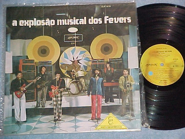 A EXPLOSAO MUSICAL DOS FEVERS--NM 1971 Brazil LP-London