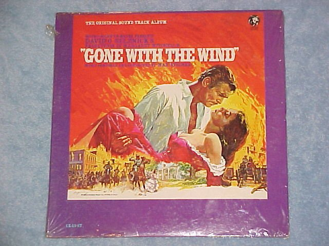 GONE WITH THE WIND-Mint Sealed 1967 Sdk LP-MGM 1E-10-ST