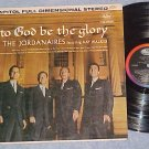 THE JORDANAIRES-TO GOD BE THE GLORY--VG+ Stereo 1961 LP