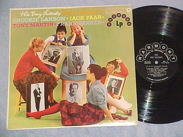 THE BOY FRIENDS--NM/VG++ 1958 Cmpln LP--5 Male Singers