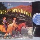 TEXAS TROUBADORS-SONGS OF THE OPEN RANGE-Rhonda Fleming