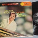 FRANCES FAYE SWINGS FATS DOMINO--NM/VG+ Stereo 1959 LP