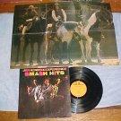 JIMI HENDRIX EXPERIENCE--SMASH HITS--1973 LP w/POSTER