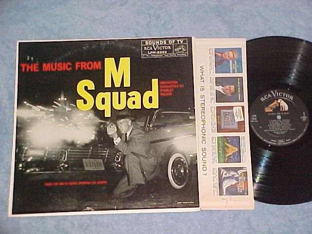 M SQUAD--NM/VG++ 1959 TV Sdk LP--RCA Victor LPM-2062