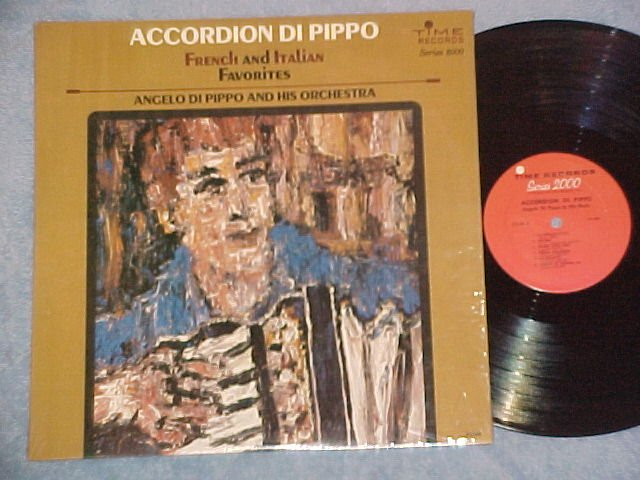 Accordion LP-ANGELO DI PIPPO(DiPippo)-FAVORITES-Time-NM