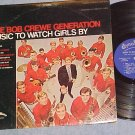 BOB CREWE GENERATION-MUSIC TO WATCH GIRLS BY--NM/VG+ LP