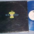U.S. APPLE CORPS-s/t NM/VG+ 1970 Blue Vinyl WL Promo LP